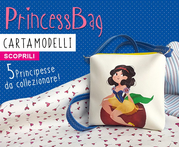 PRINCESS BAG_biancaneveHOME