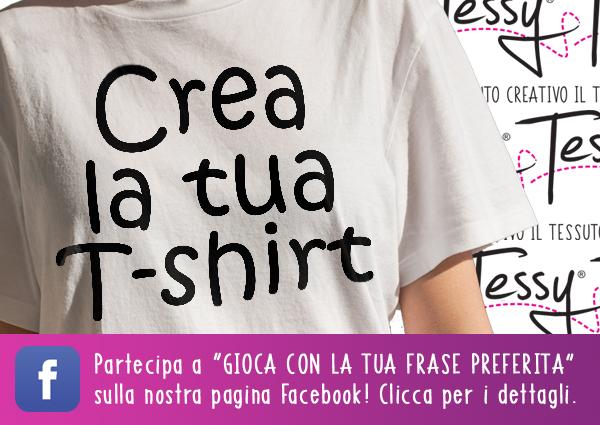 crea la tua t-shirt