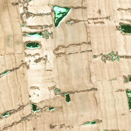 sughero lamina verde
